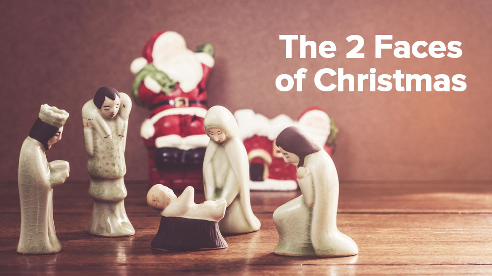 The 2 Faces of Christmas