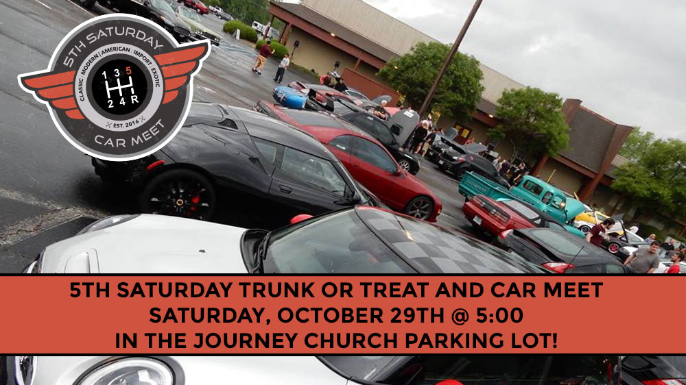 5th Saturday Car Meet and Trunk or Treat – October 29th