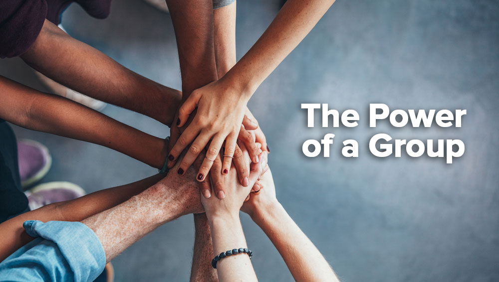 The Power of a Group (and how you can get involved)