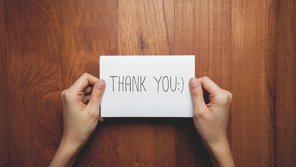 Thankfulness > Anxiousness